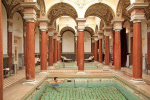Danubius Hotels, Roman bath, Marienbad, tourist