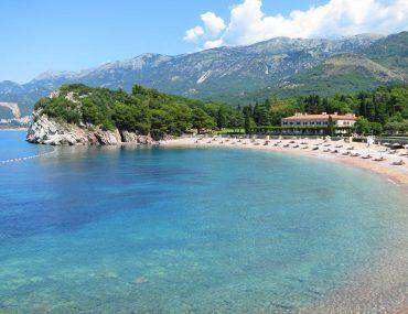 Queens Beach, beaches in Montenegro, coast,