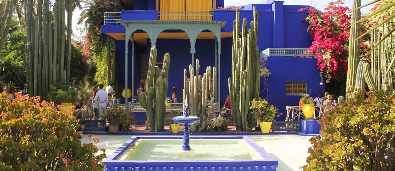 Majorelle Garden & Jardin Majorelle, Marrakech, Morocco