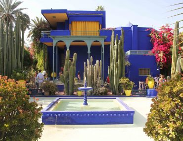 marrakech, morocco, garden, sightseeing, city trip, travel, tourist attraction, jardin majorelle