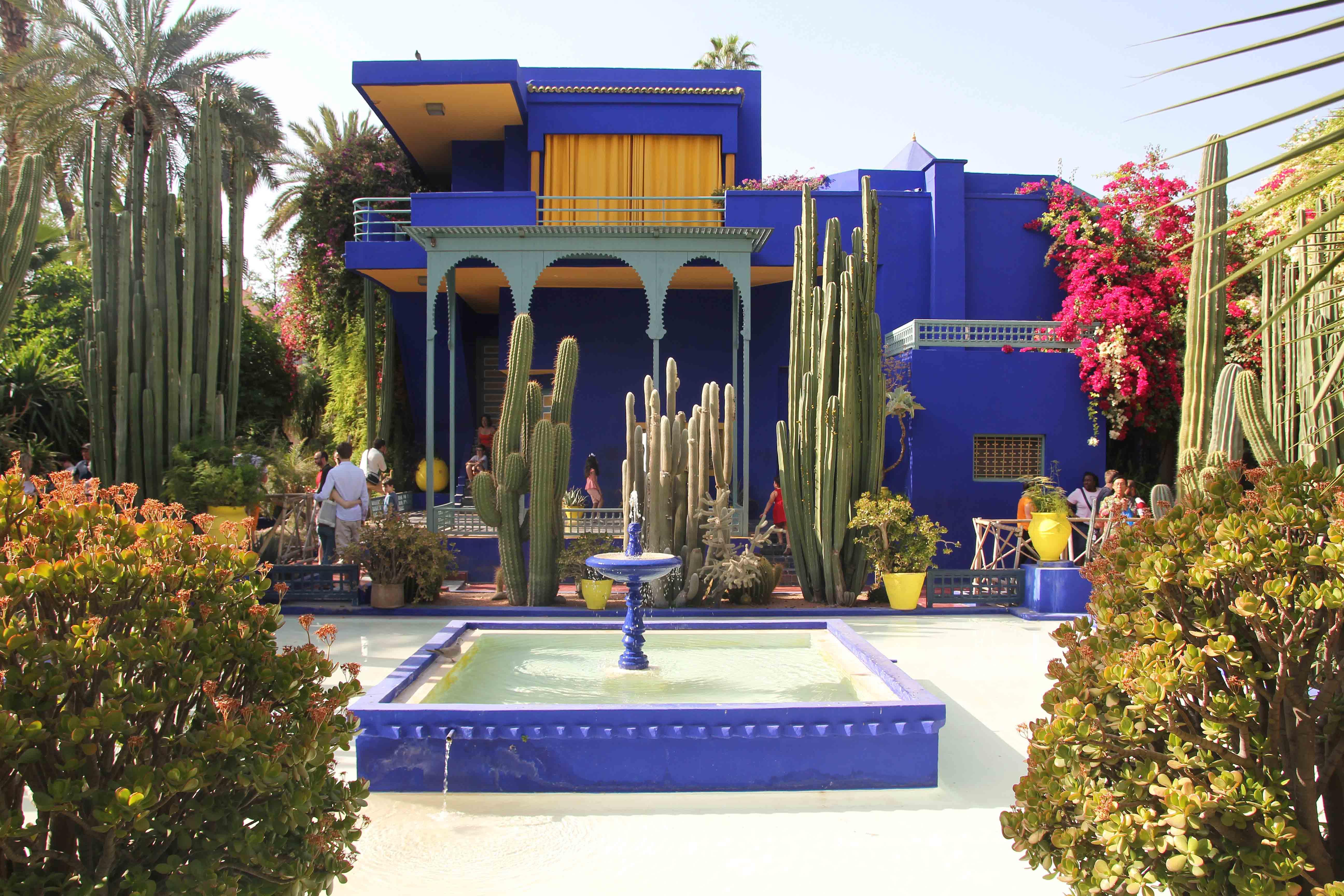 jardin majorelle marrakech itinerary morocco sightseeing - Jardin Marrakech