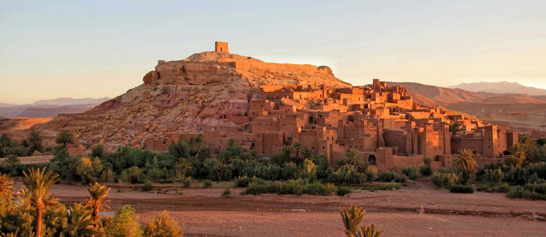 Ait-Ben-Haddou, Top Sehenswürdigkeiten in Marokko, Kasbah, Sonnenuntergang