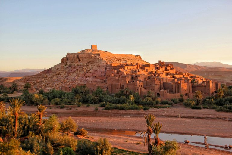 Ait-Ben-Haddou & High Atlas Mountain Road