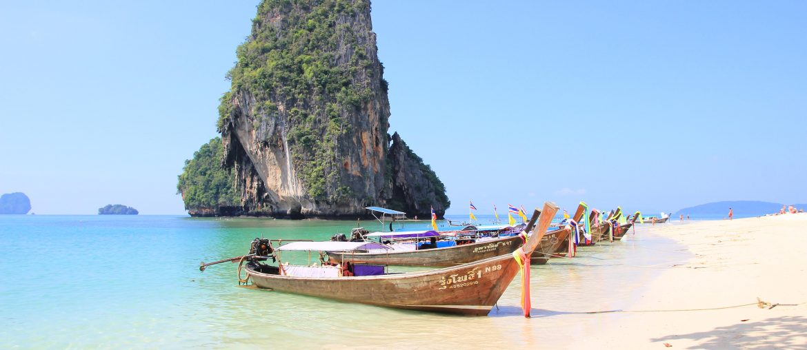 Thailand Island Hopping, from Krabi to Koh Lipe, Phranang Beach