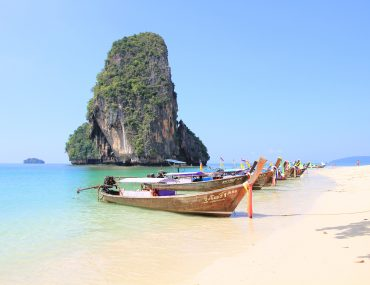 Railay, Krabi Inselhopping, Phranang Beach