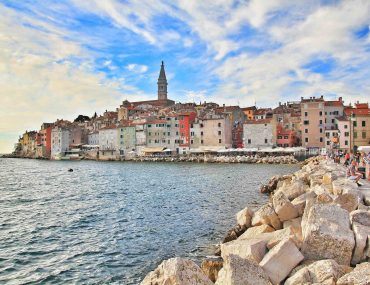 harbour Rovinj, viewpoint, city view, seafront, Adria, must see, tourist attraction, old town