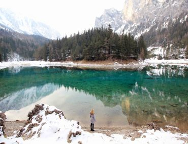 Green Lake, Austria, Styria, Nature, Lake, must see, travel, Winter time