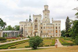 Hluboka nad Vltavou Castle, czech republic, tourist attraction, must see