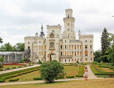 Hluboka nad Vltavou Castle, czech republic, tourist attraction, must see