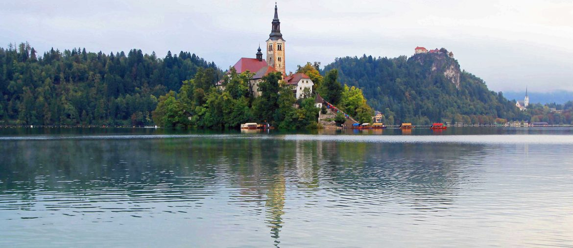 Bled Island, church, must see, boat trip, slovenia, instagram