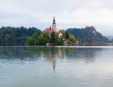 Bled Island, Bled, church, must see, boat trip, slovenia, instagram