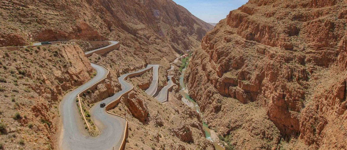 Winding Road, Dades Valley, self drive Morocco, Zig Zag Road