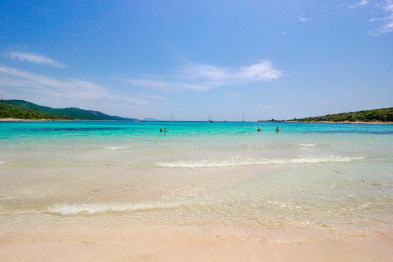 best beaches in Croatia, Dugi Otok, Island, Kroatien, Sakarun beach