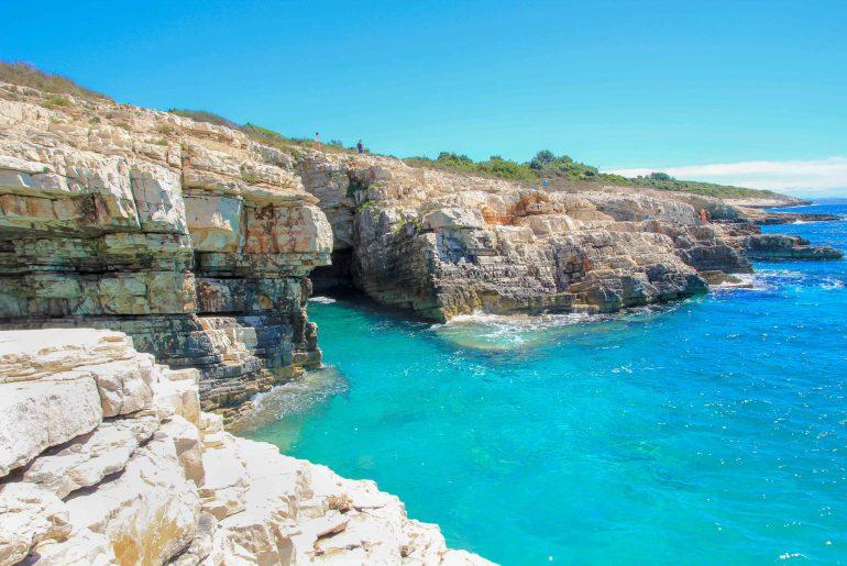 Cape Kamenjak, Premantura, Croatia, coast