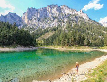 Grüner See, Österreich, Tragöß, Steiermark,
