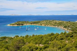Beach Kosirina, Island, Croatia, adria, viewpoint
