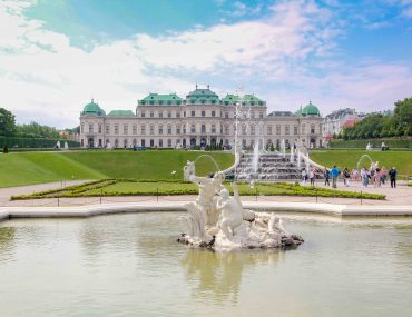 Belvedere Palace, 3 days in Vienna itinerary,