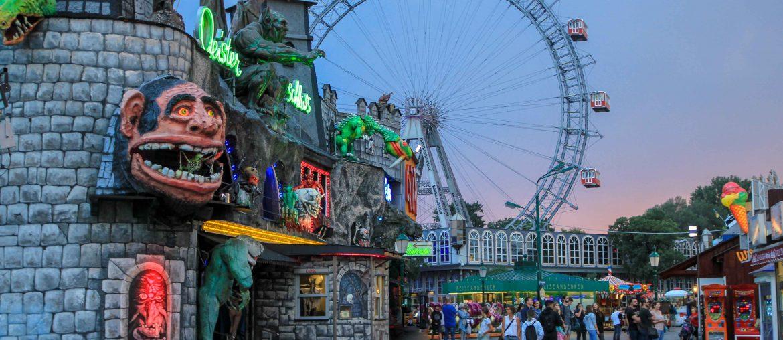 Top things to do in Vienna, Wiener Prater, Riesenrad, Geisterbahn,