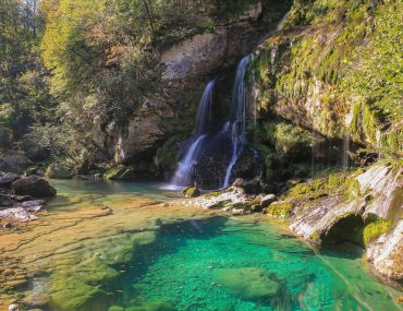 Bovec, Virje Waterfall, Triglav National Park, Top Waterfalls in Slovenia