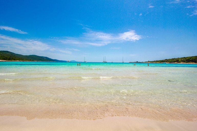 weißer Sandstrand in Kroatien, Strand, Bucht, Traumstrand, Dugi Otok