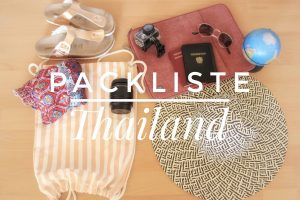 Packliste Thailand, Backpack