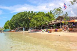 Beach, Strand, Krabi, Thailand