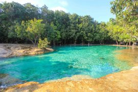 Emerald Pool Krabi, Thailand