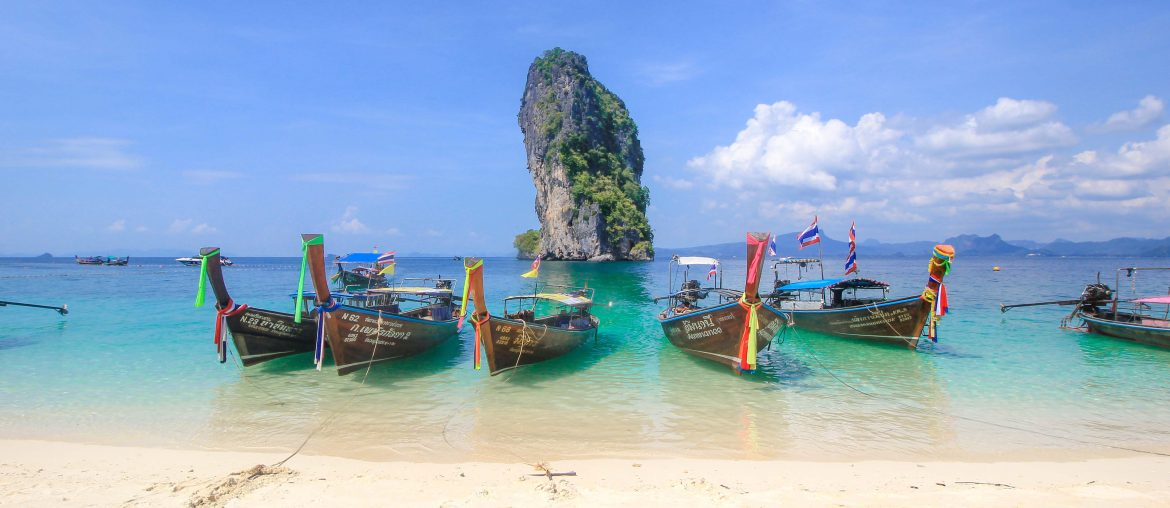 Koh Poda, Beaches, Krabi