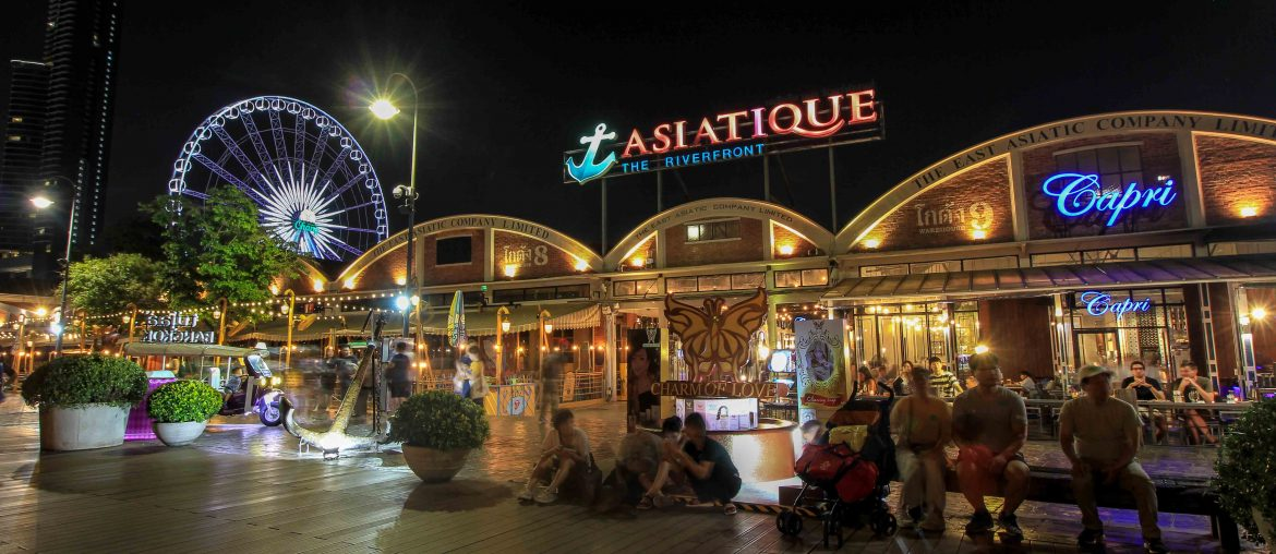 Asiatique the Riverfront, Bangkok, Night Market