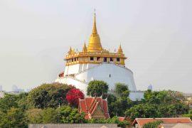Wat Saket, Golden Mount, Tempel des goldenen Berges, Bangkok, Thailand