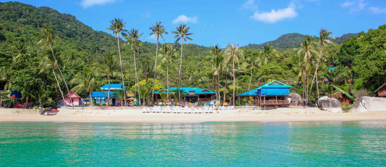 Haad Yuan, Koh Phangan, Thailand, Beach