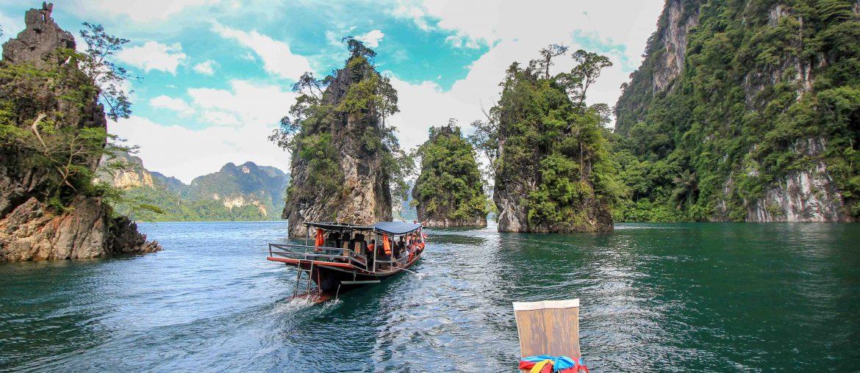 Khao Sok Nationalpark, Chieo-Lan-See, Bootsfahrt, Thailand