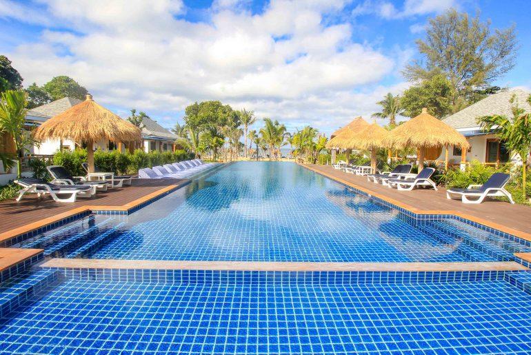 Lanta Casa Blanca, Hotel, Koh Lanta, Thailand, Pool