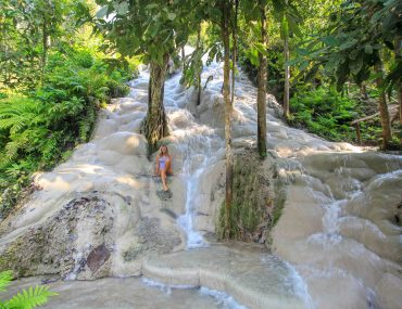 Sticky Waterfall in Chiang Mai