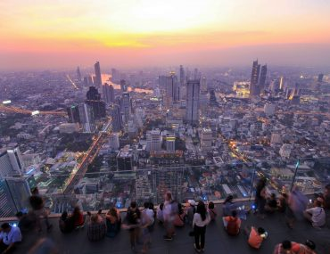 King Power Mahanakhon Tower, Skybar, Sunset, Bangkok