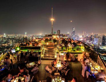 Banyan Tree, Skybar, Rooftop Bar, Bangkok, Hotel