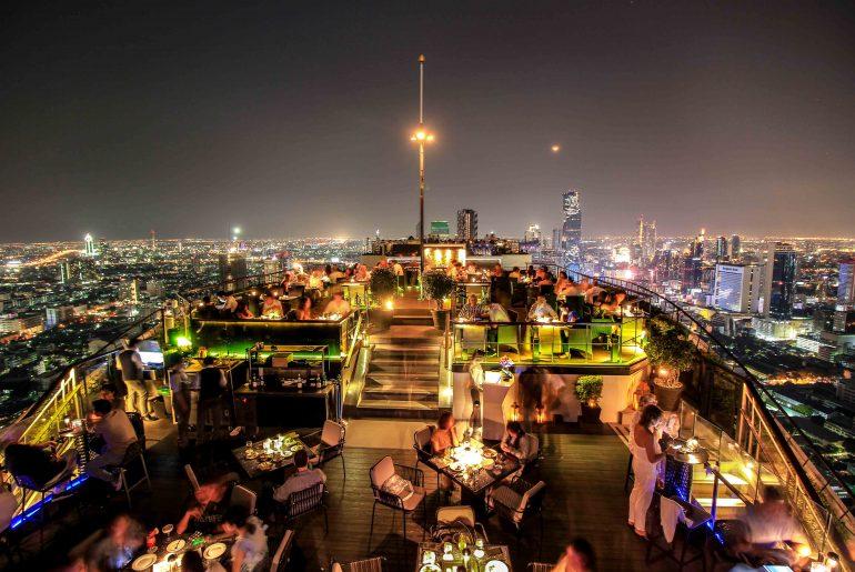 Banyan Tree, Vertigo and Moon Bar, Skybar Bangkok