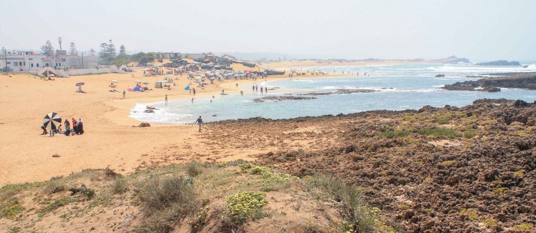 Oualidia, Marokko, Strand, Urlaub