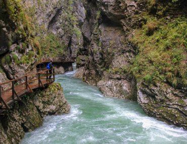 Vintgar Gorge, Slovenia, Hiking, Walk