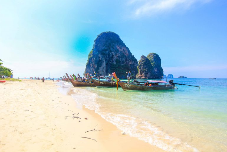 Phra Nang Beach, Krabi, Railay Beach, Thailand, 4 Islands Tour