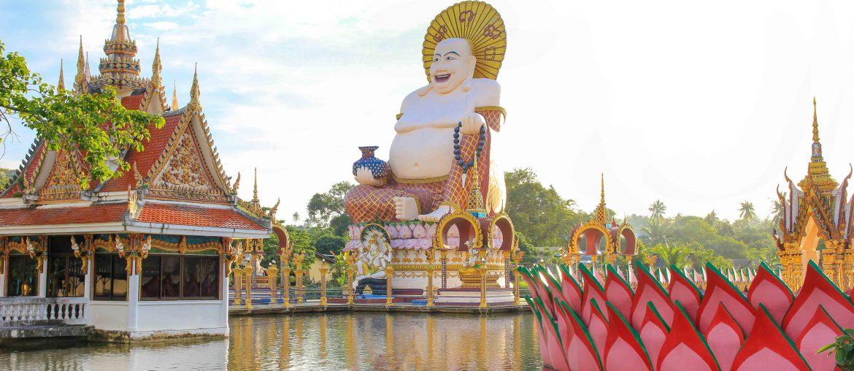 Wat Plai Laem, Temple, Koh Samui, Thailand