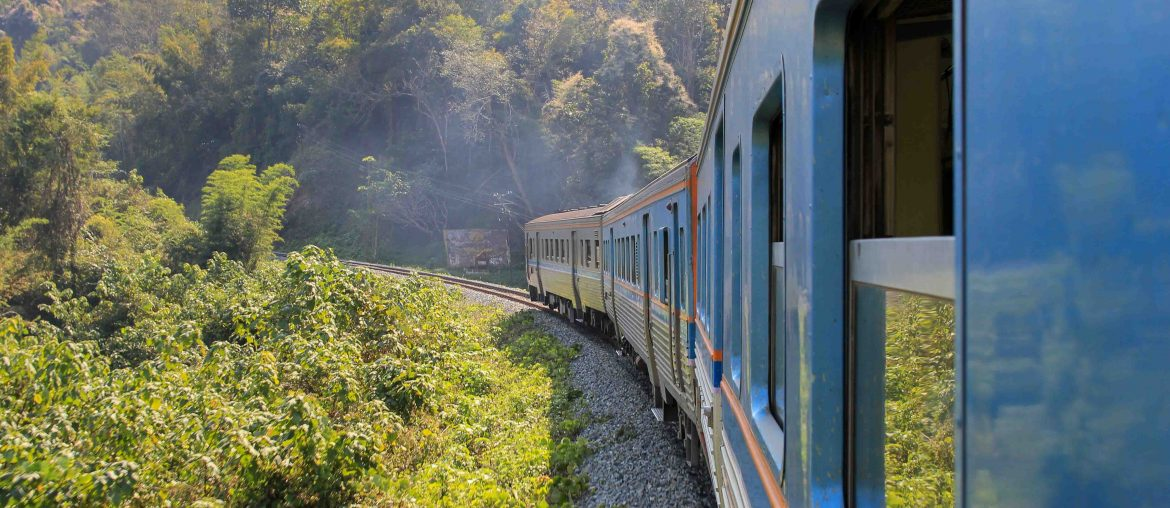 Thailand, Train from Bangkok to Chiang Mai,