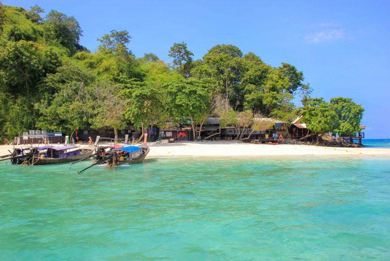 Chicken Island, Krabi 4 Islands Tour, Thailand