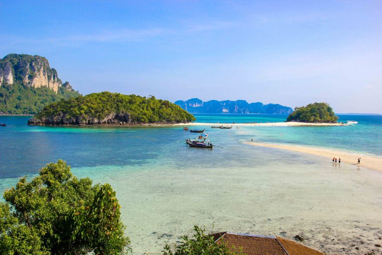 Chicken Island, Krabi 4 Islands Tour, Excursions, Thailand, Day Trip