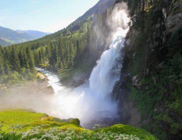 Krimml Waterfalls, Salzburg, Highest Waterfall in Austria