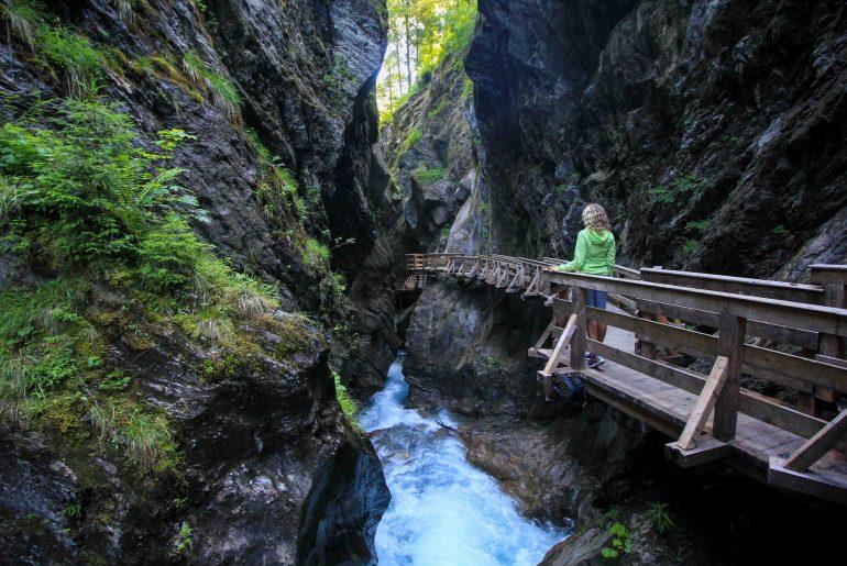 Sigmund Thun Gorge, Zell am See, Kaprun, Austria