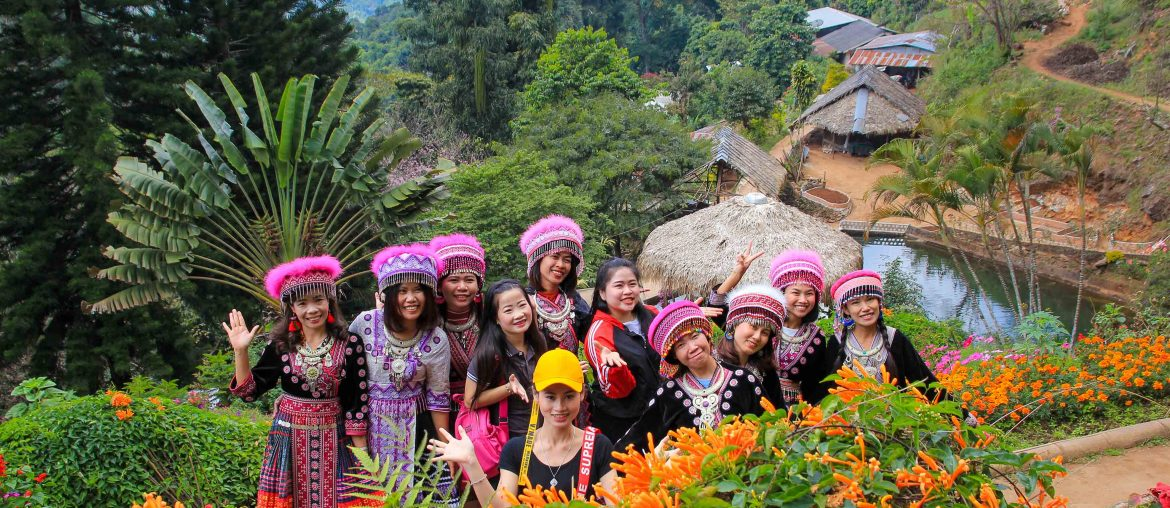 Hmong Village, Chiang Mai, Doi Suthep National Park, Thailand