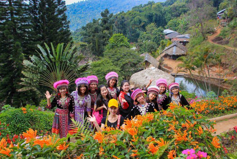 Hmong Village, Chiang Mai, Doi Suthep National Park, Thailand