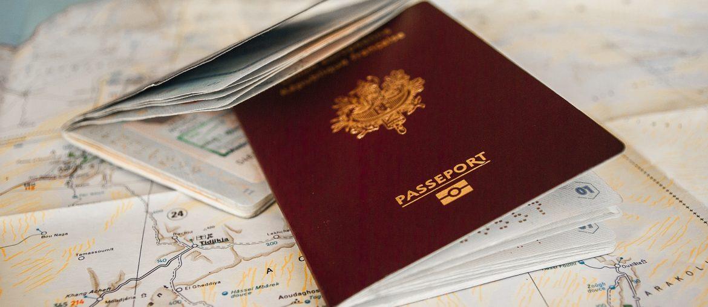 Reisepasshülle - Passport Cover