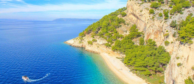 Beach Nugal, Makarska Riviera, Croatia
